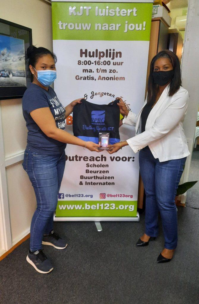 Donatie aan Stichting Jongeren en Telefoonlijn